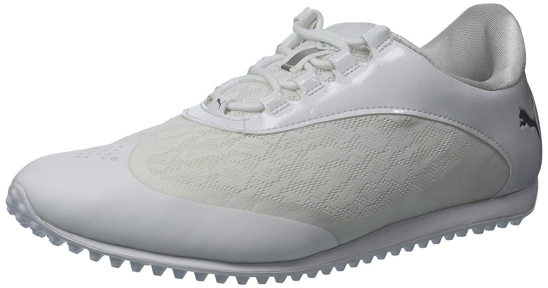 PUMA Women's Summercat Sport Golf Shoe B074ZKH5TV 8.5 B(M) US|White/Silver/High Rise