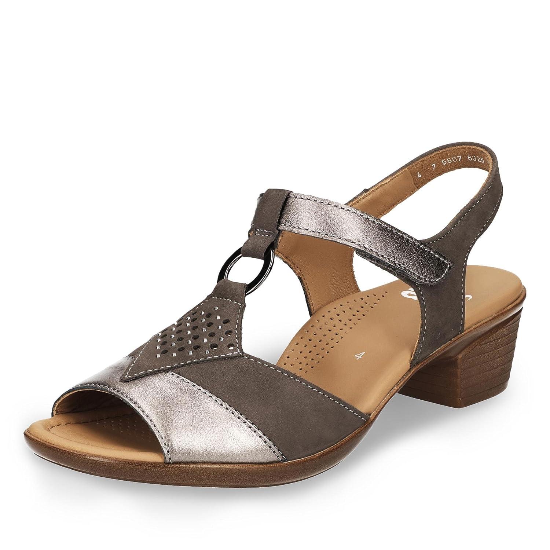 ARA Damen Lugano T Spangen Sandalen: : Schuhe