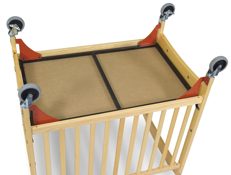 Evacuation crib for sale - Amazon Com Foundations Evacuation Frame With Chrome Casters Red Chrome Cribs Baby