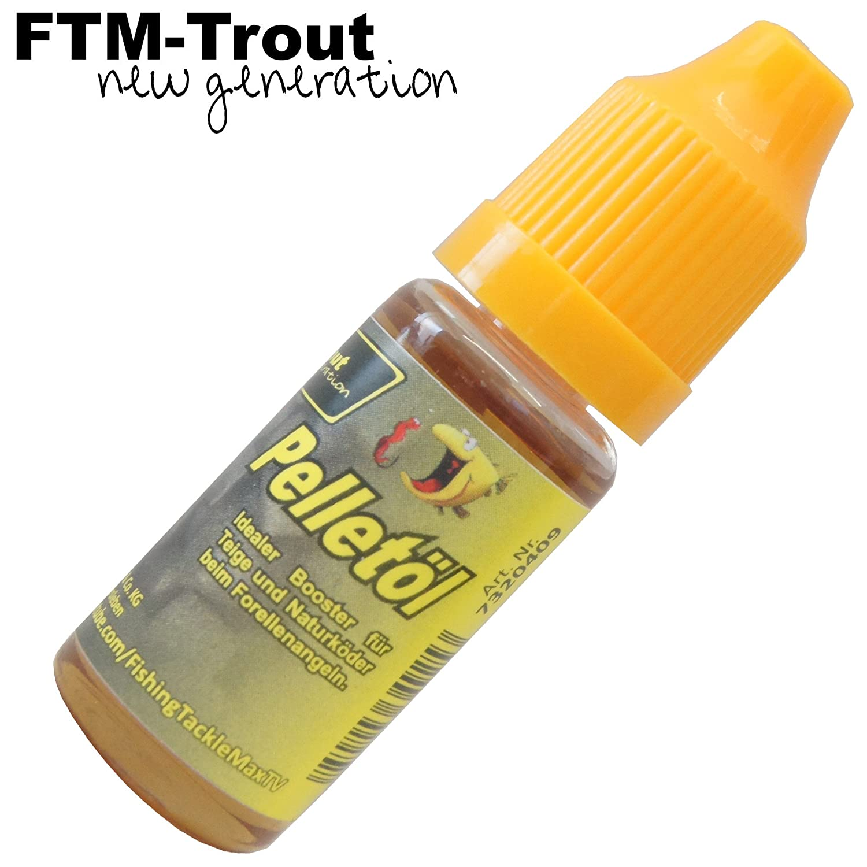 FTM forellen Booster Pellet 10 ML 7320409 pelletoel Lockstoff Dip Aroma per la pesca alla trota Fishing Tackle Max