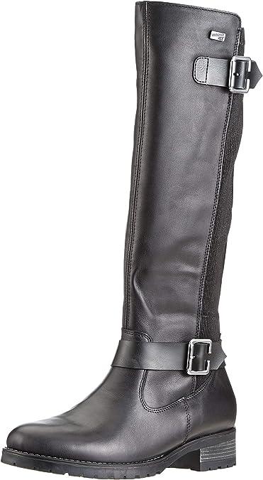 Remonte D8582, Bottes Hautes Femme, Noir (Schwarz 01), 41 EU