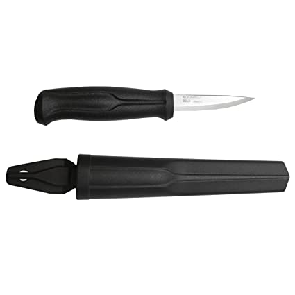 Morakniv Basic Wood Carving Knife With Sandvik Stainless Steel Blade 3 Inch