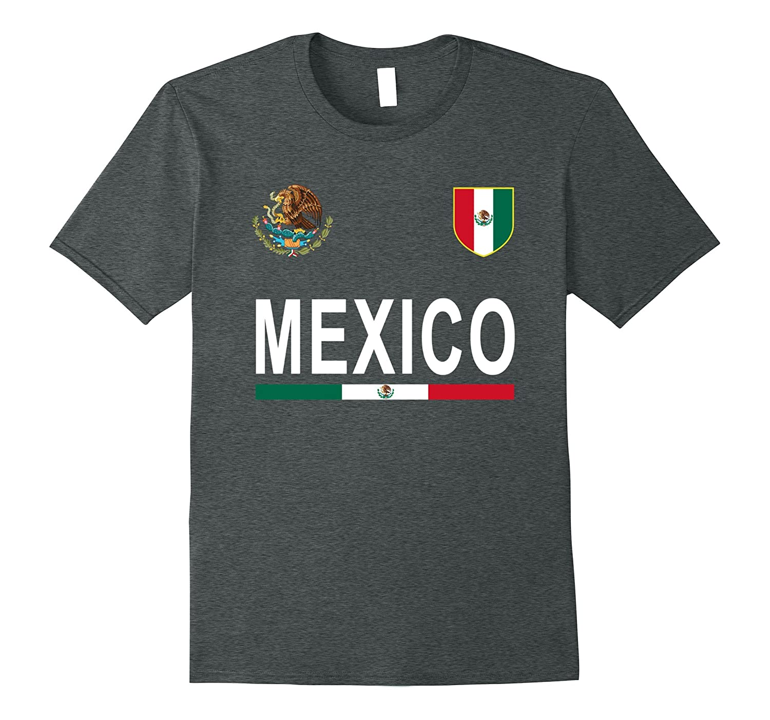 Mexico Retro T-Shirt – Mexican Football Jersey-CD – Canditee 3a37d94d6