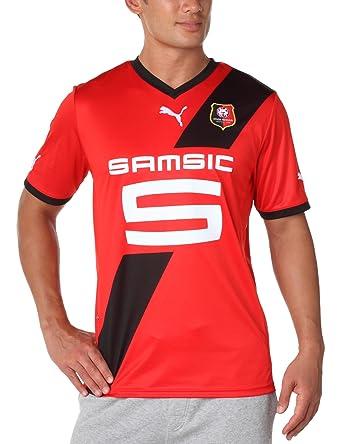 Puma - Camiseta de equipación de fútbol sala para hombre, tamaño XXL, color rojo