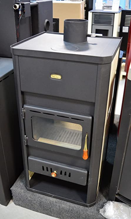 Estufa de leña calentador Chimenea Multi combustible Prity S3 W13: Amazon.es: Bricolaje y herramientas