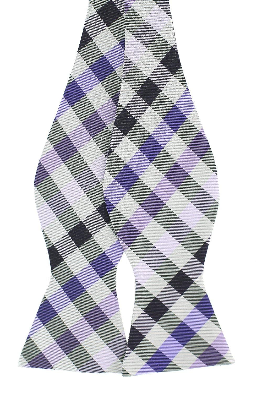 Tok Tok Designs/® Mens Self-Tie Bow Tie B453, 100/% Silk