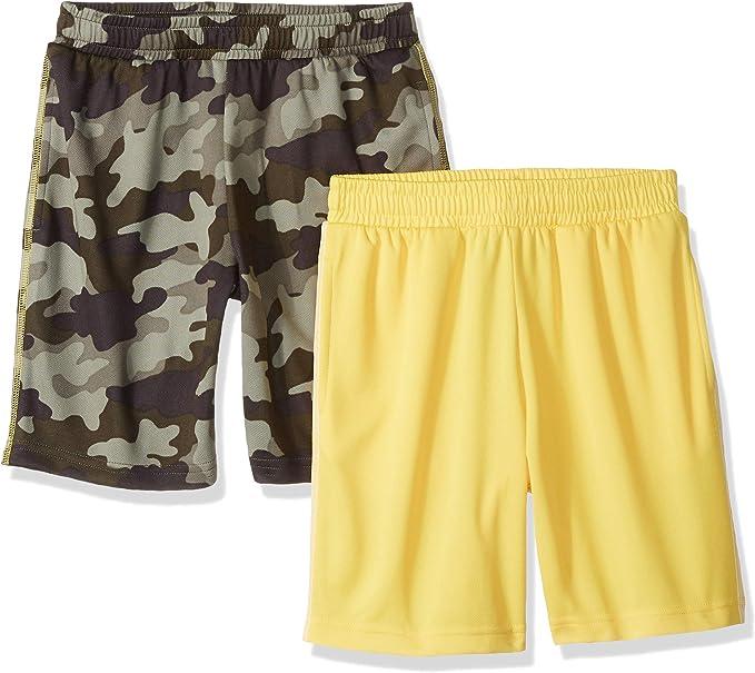 Amazon Essentials – Pantalones cortos de malla para niño (2 unidades): Amazon.es: Ropa y accesorios