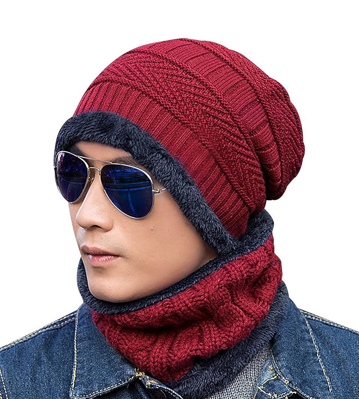 521d0d07f56 365-Shopping Unisex Mens Womens Grey Jersey Beanie Spring Cap Summer Cap  Long Thin Beanies Slouch Hats SL00036A