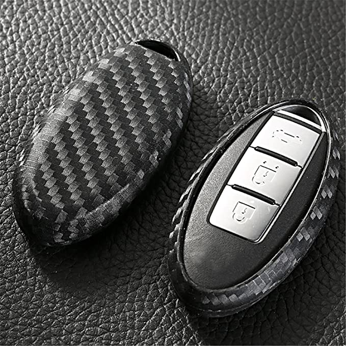MissBlue Key Cover For Nissan, Silicone TPU Soft Key Case for Men & Women, Car Key Holder Key Protector For Nissan 3 Buttons 4 Buttons 5 Buttons Key ...