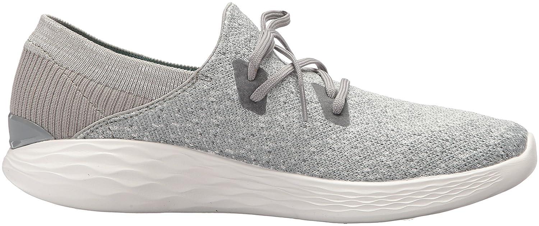Skechers Women's You-14964 Sneaker B0721D9DYT US Gray 9.5 B(M) US Gray B0721D9DYT a36053