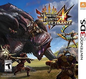 Monster Hunter 4 for Nintendo 3DS Game