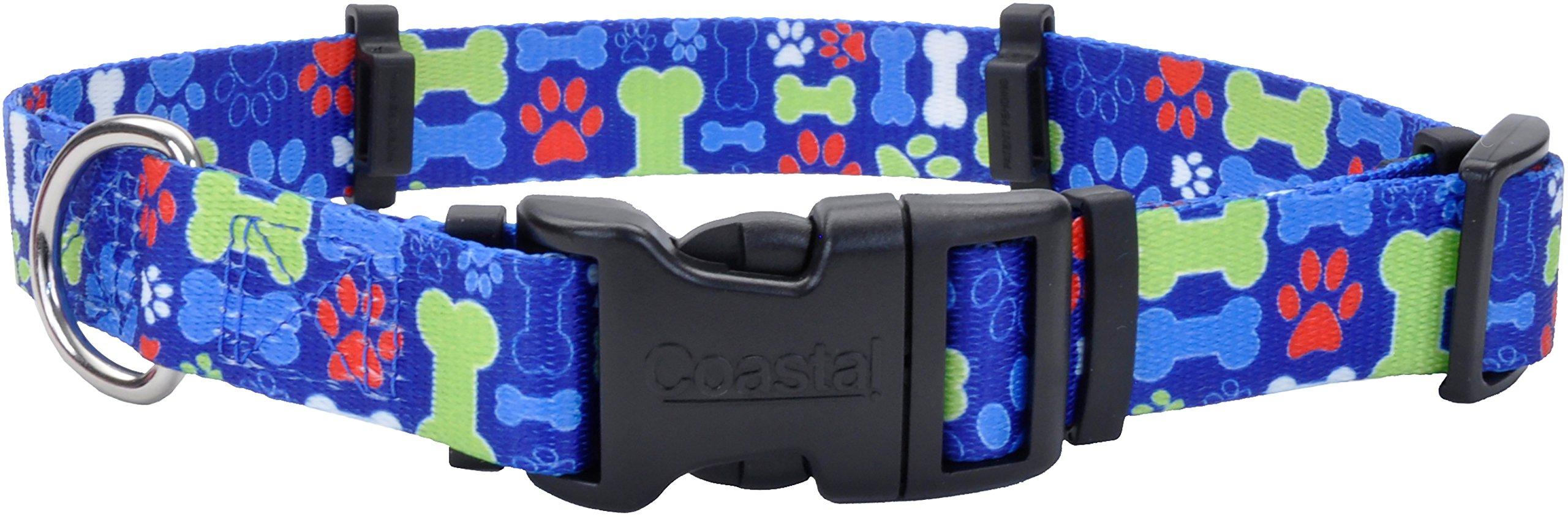 Coastal Pet Products 06195 MBN20 Flea Collar Protector, 1'' x 20'' Medium, Multi Bones