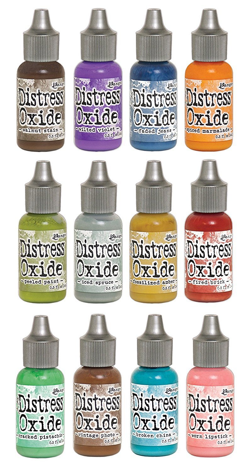 Ranger Tim Holtz Distress Oxide Reinkers Bundle - all 12 Colors