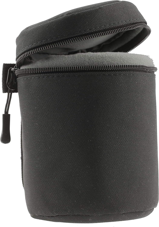 ZEISS Touit 2.8//50M Navitech Schwarz Wasserdicht Kameraobjektiv Schutzh/ülle Tasche Kompatibel Mit Der ZEISS Touit 2.8//12 ZEISS Batis 2//25