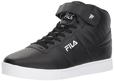 5a04fea80d33 Fila Men s Vulc 13 MID Plus 2 Walking Shoe Black White