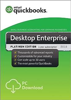 Amazon com: QuickBooks Desktop Pro 2019 [PC Download]: Software