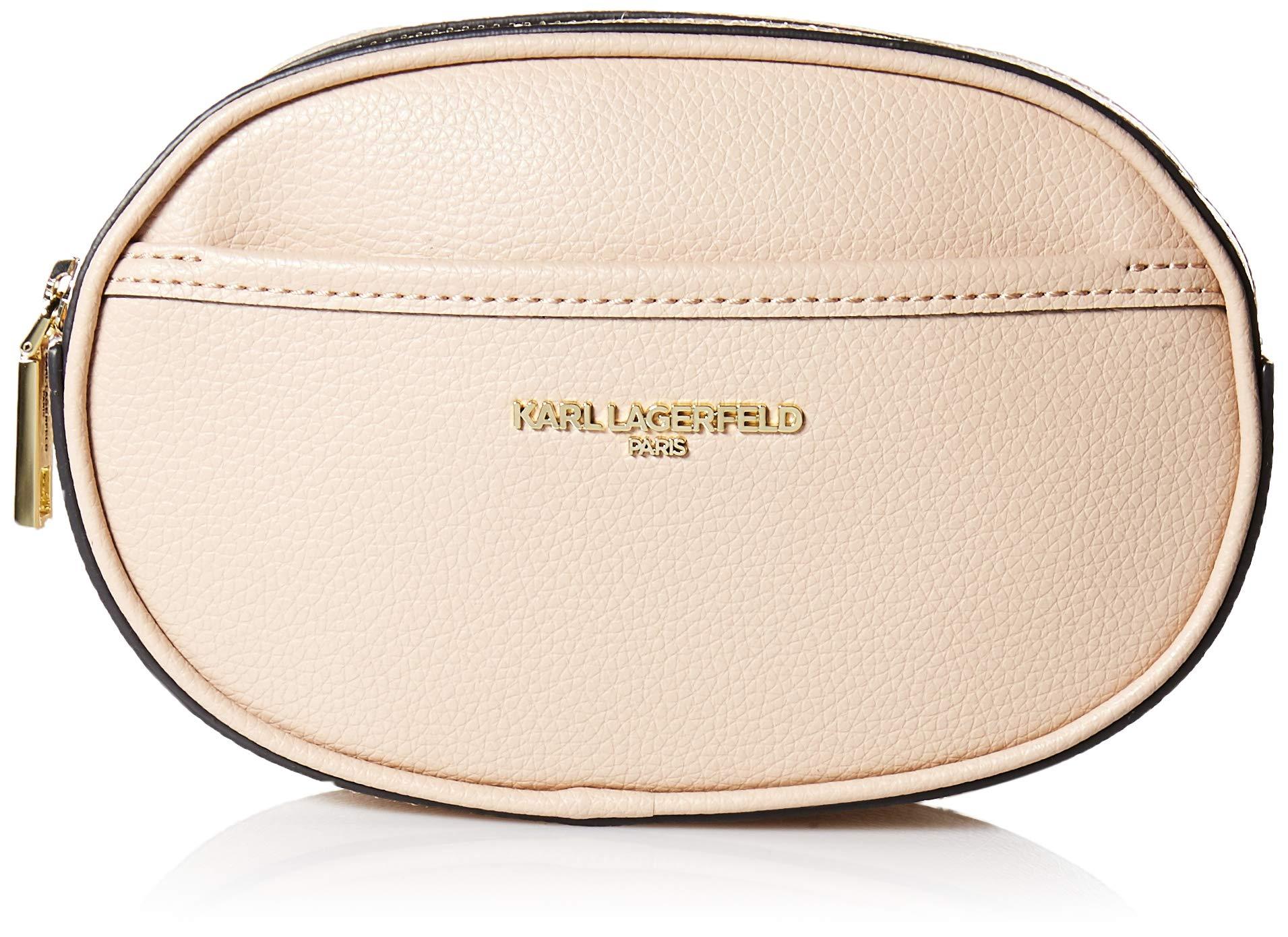 Karl Lagerfeld Paris Womens Willow Belt Bag, Shell