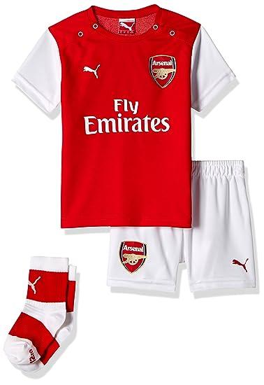 new style 37b59 1e7f5 PUMA 2014-2015 Arsenal Home Baby Kit