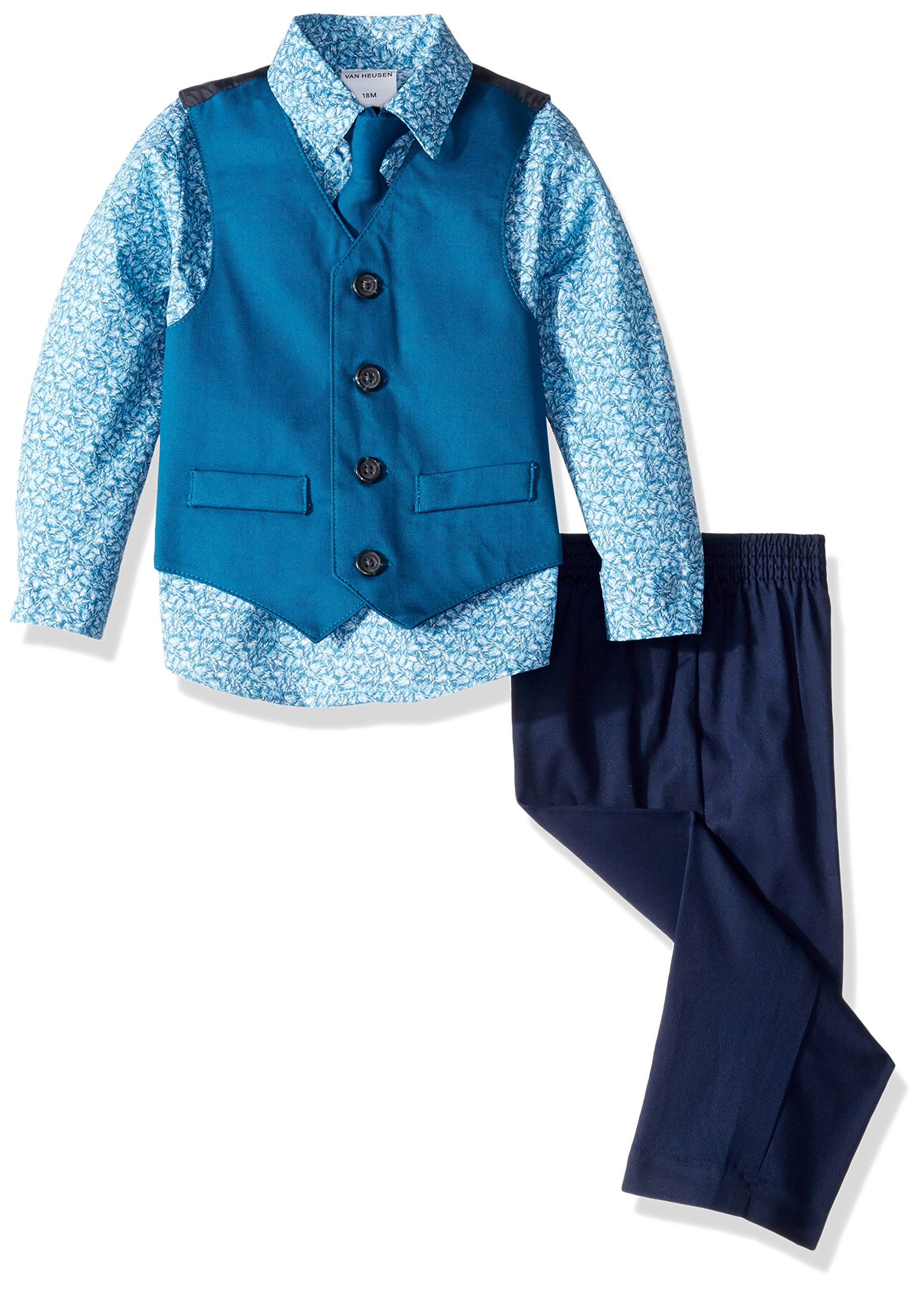 Van Heusen Baby Boys 4-Piece Formal Dress Up Vest