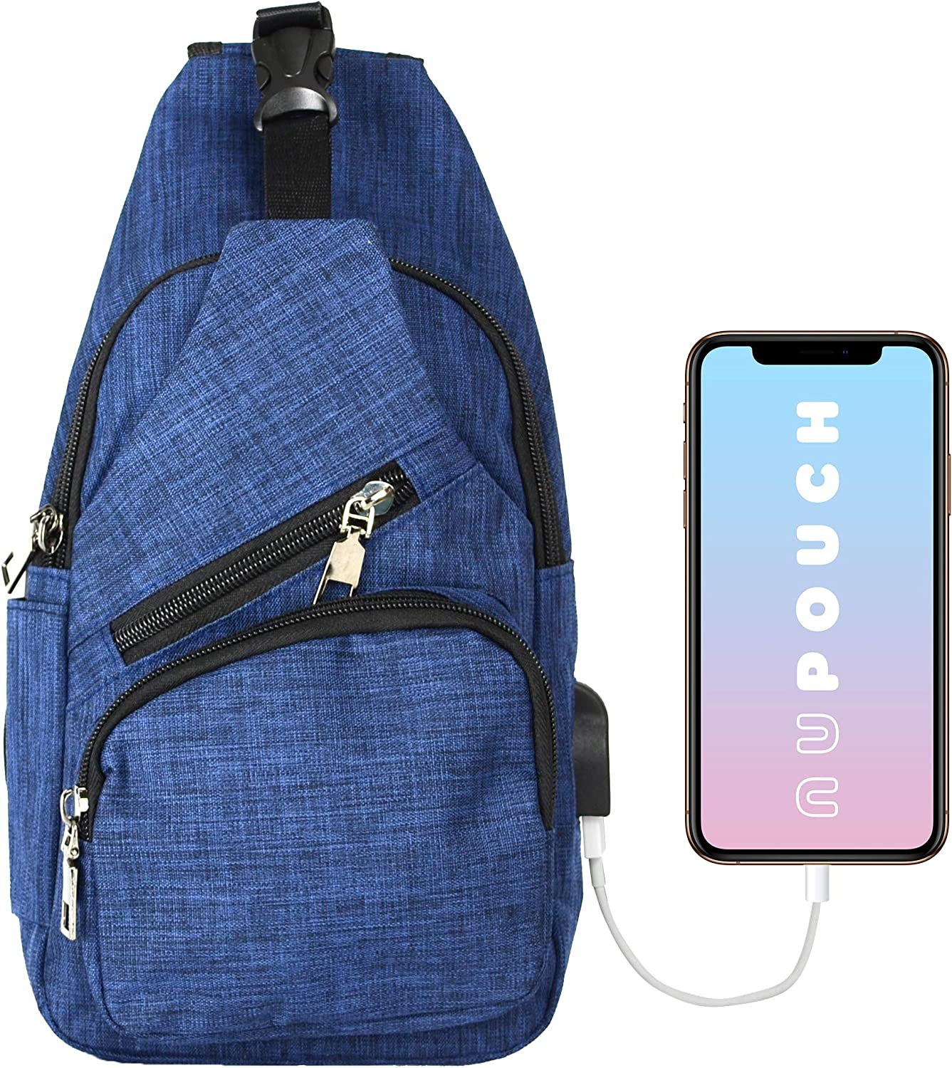 NuPouch Daypack Anti-Theft Backpack