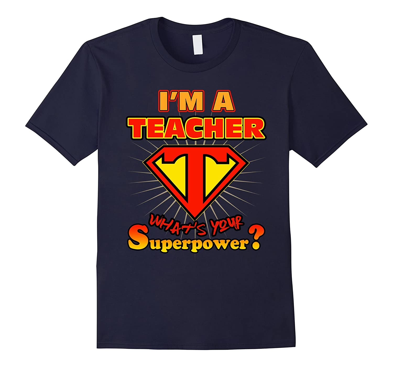 2 Sided Superhero I'm a Teacher What's Your Superpower-Rose