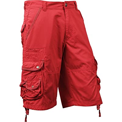 Mens Premium Cargo Shorts Loose Fit Twill Pocket Outdoor Wear | Amazon.com