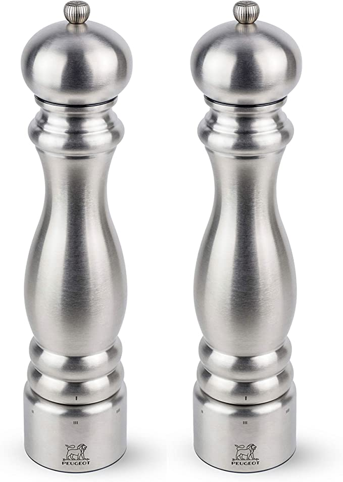Peugeot 25519 Mahe Manual Pepper Mill USELECT Stainless Steel 16cm Free Delivery