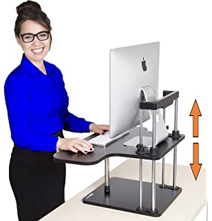 stand steady uptrak standing desk instantly convert any surface to a stand up workstation