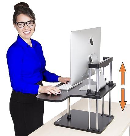 Amazon Com Stand Steady Uptrak Standing Desk Instantly Convert