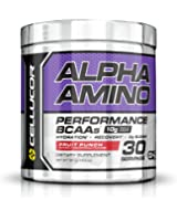 Cellucor Alpha Amino Acid Supplement with BCAA, Fruit Punch, 13.4 Ounce