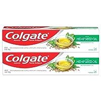 Colgate Hemp Seed Oil Toothpaste, Herbal Mint Gel, 4.6 oz, Pack of 2