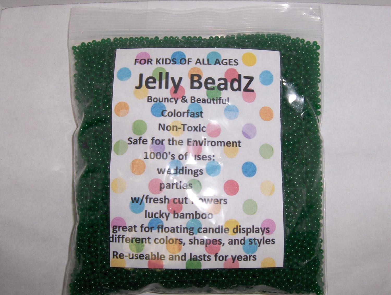 Huge Fun 1 Pound JellyBeadZ Brand Water Gel Blue LAW