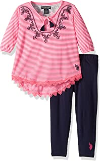 518f47ce81d346 Amazon.com: Limited Too Girls' Fashion Top and Legging Set (More ...