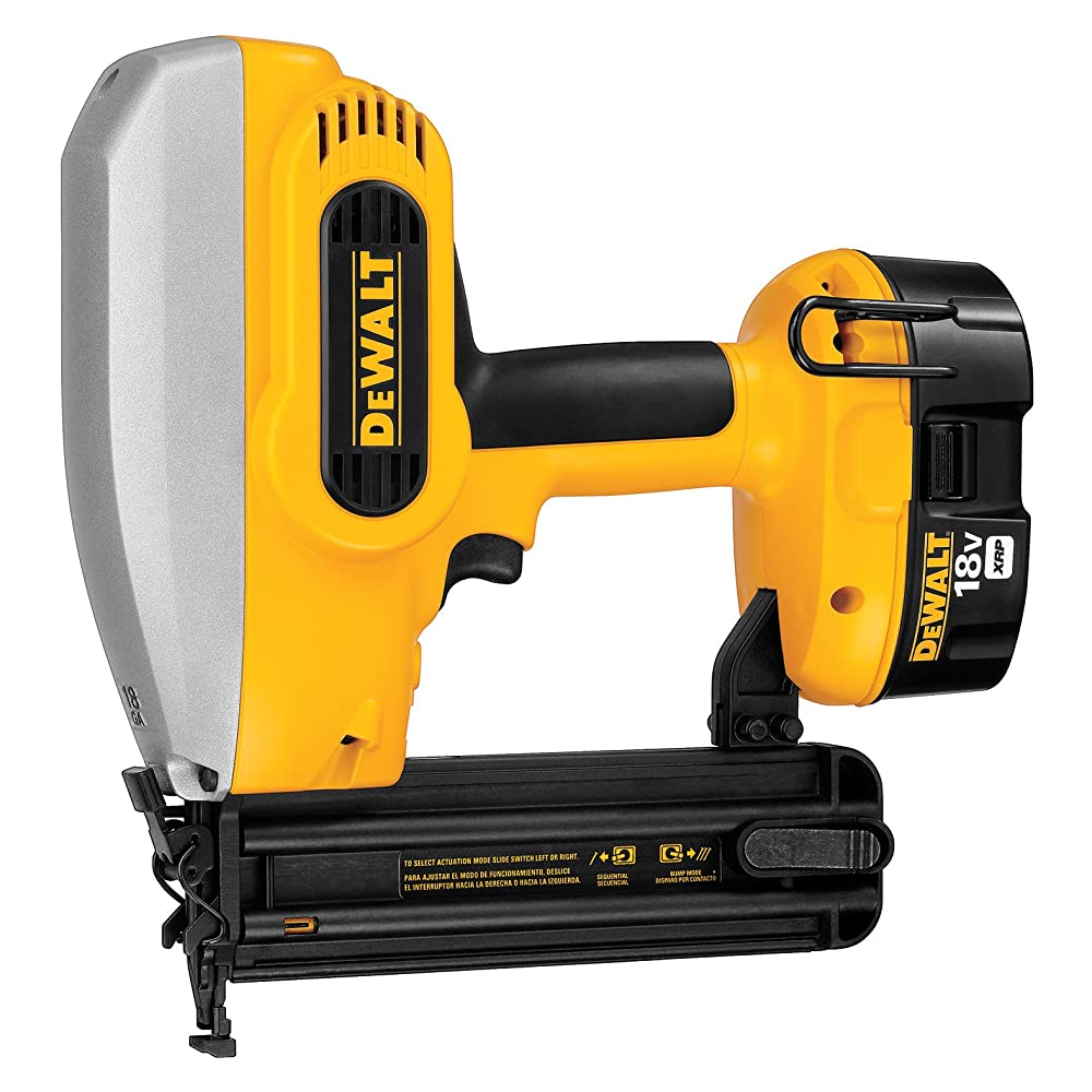 DEWALT DC608K 18-Volt 18-Gauge 2-Inch Brad Nailer Kit Review