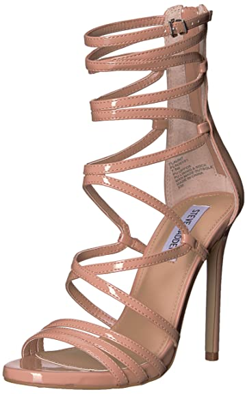 184e3f286a3 Amazon.com  Steve Madden Women s Flaunt Heeled Sandal  Steve Madden ...