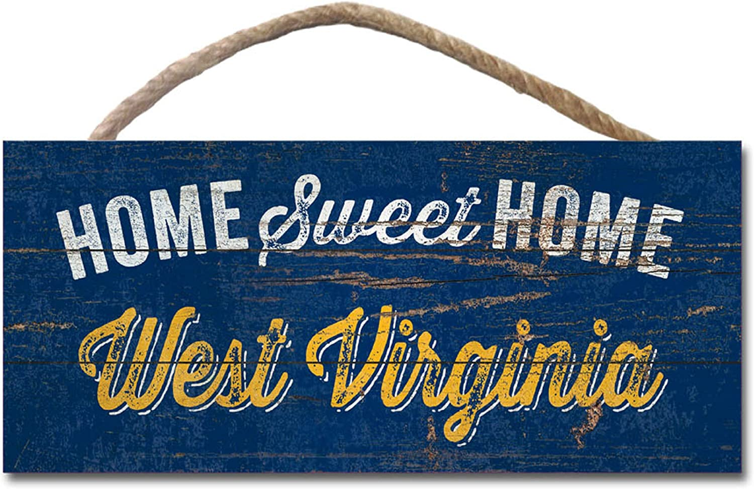 Legacy NCAA Fan Shop Wood Plank Hanging Sign 10x5