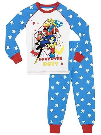 DC Superhero Girls DC Superhero Pajamas Size 8