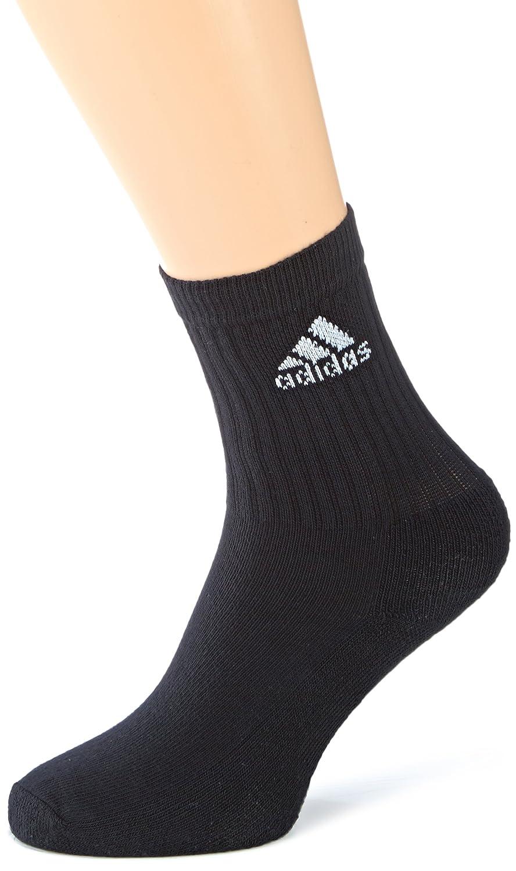 adidas AdiCrew Pack 3 Pares Calcetines - Calcetines para hombre, color blanco, talla 39-42: Amazon.es: Deportes y aire libre