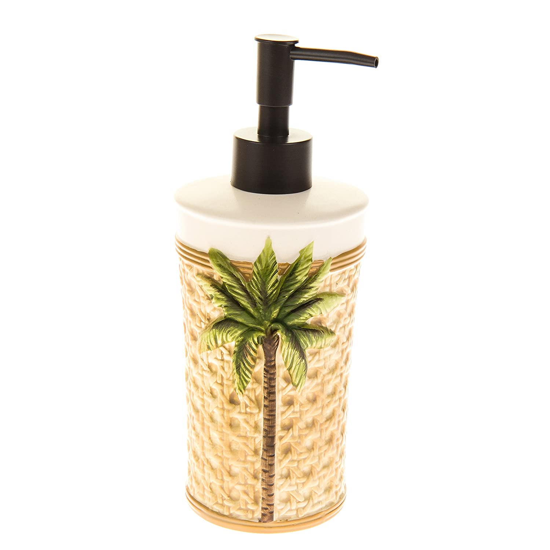 Amazon.com: Better Homes and Gardens 5 Piece Palm Bath Set: Home ...