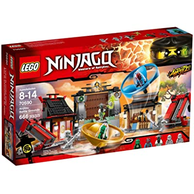LEGO Ninjago Airjitzu Battle Grounds 666pcs Building Set - Building Games (8 Years), 666 Piece(s), 14 Year(s): Toys & Games