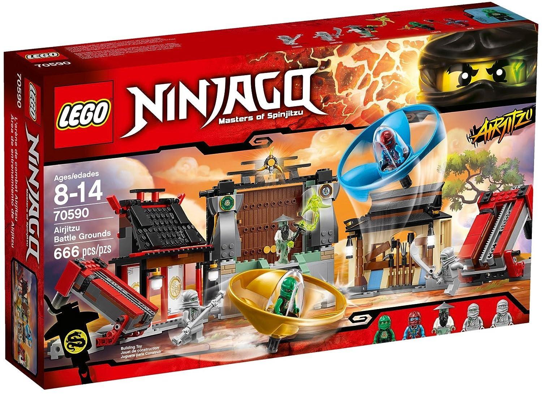 LEGO Ninjago Airjitzu Battle Grounds 666pieza(s) Juego de ...