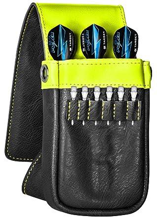 Cible Fl/échettes Daytona /étui portefeuille gris bleu