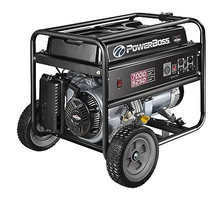PowerBoss 30630 5250-watt Gas Powered Portable Generator
