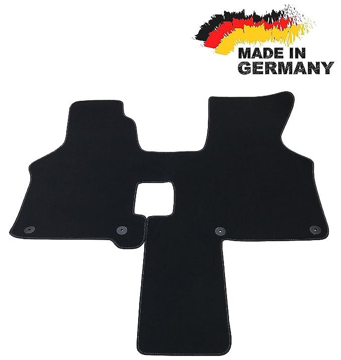 Automatten Fahrerhaus Robust für VW T4 Schaltgetriebe 3-Sitzer