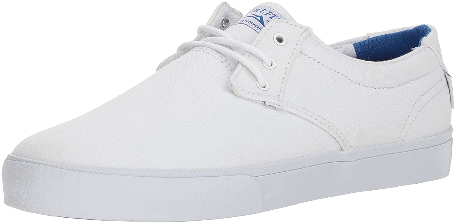 Lakai Limited Footwear Mens Daly 13 M US|White Canvas