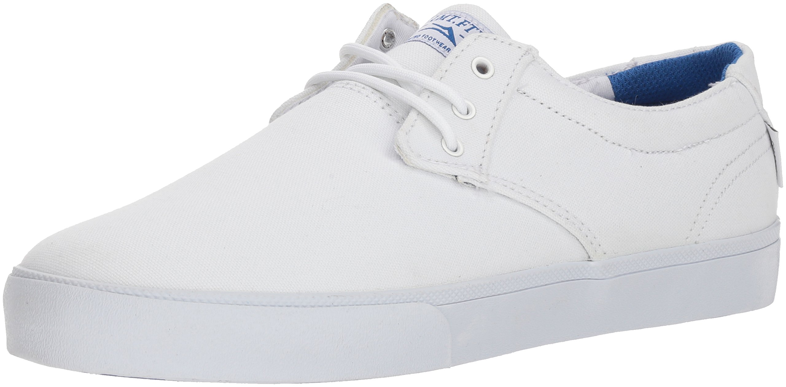 Lakai Limited Footwear Mens Daly, White Canvas, 11 Medium US