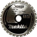 "Makita A-96095 Metal/General Purpose 32T Carbide-Tipped Saw Blade, 5-7/8"""