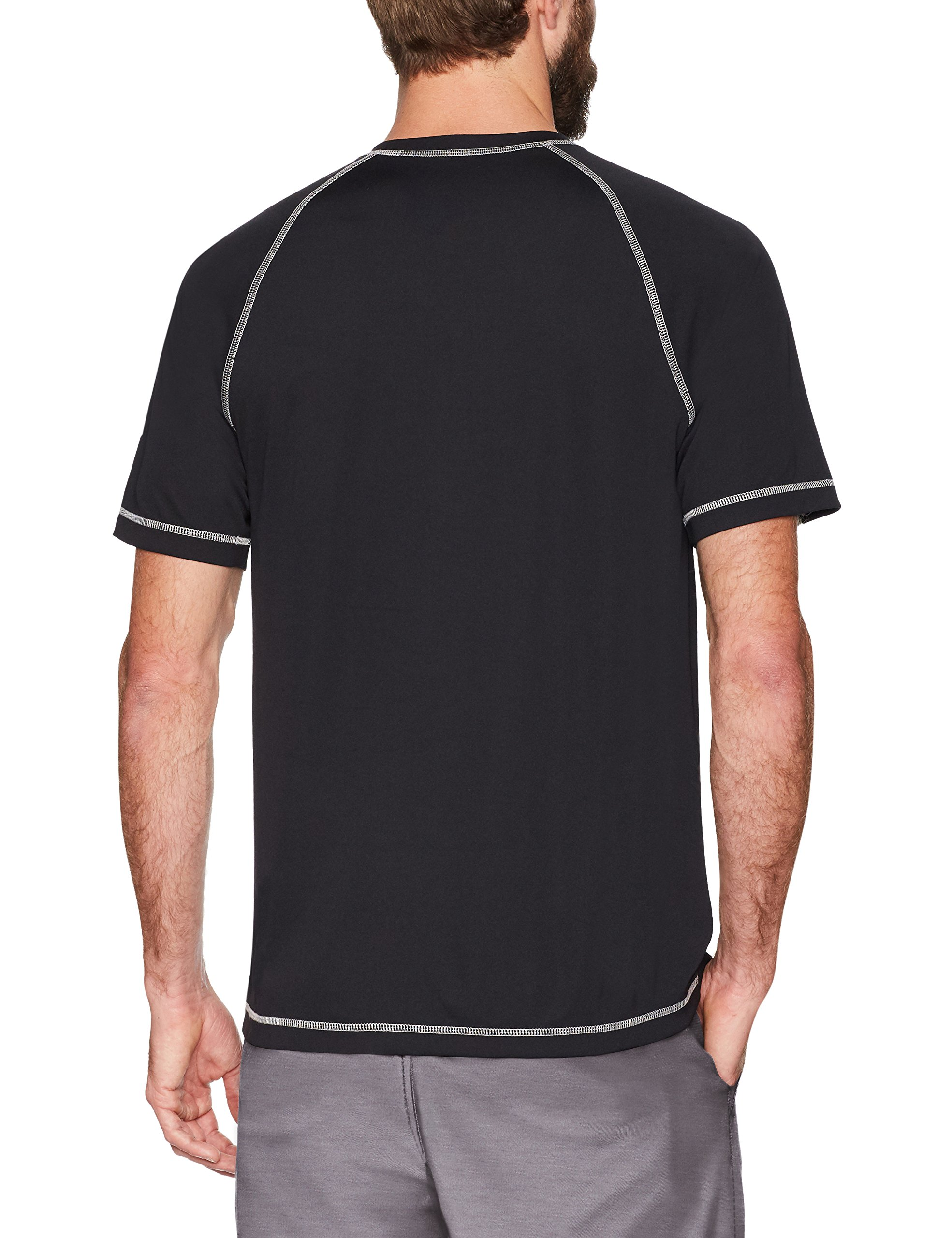 Amazon Essentials Men's Short-Sleeve Quick-Dry UPF 50 Swim Tee