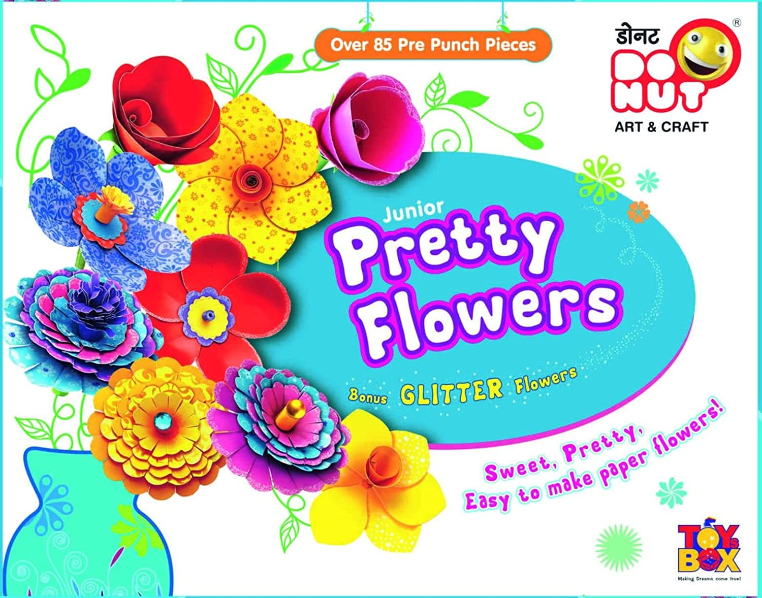 Buy Toyztrend Creative Pretty Flowers Junior For Kids To Make Their