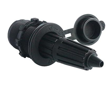 Amazon com : BANDC 12V/24V DC Power Engel Fridge Socket For